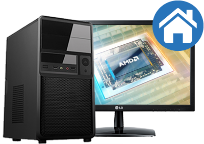 Allround PC met AMD® A / Ryzen™ Samenstellen