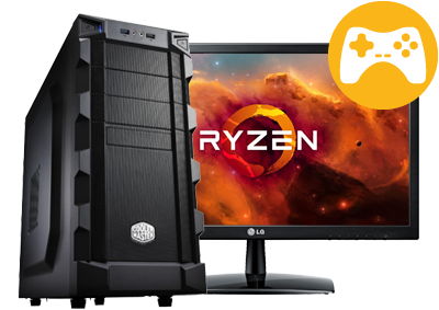 Game PC met AMD® Ryzen™ Samenstellen